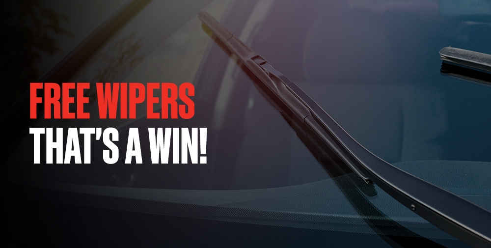 BOOK YOUR WINDSHIELD REPLACEMENT ONLINE AND RECEIVE A FREE PAIR OF TRICO FLEX® WIPER BLADES
