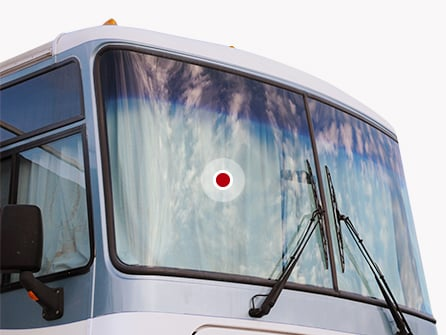 Glass damage - RV windows
